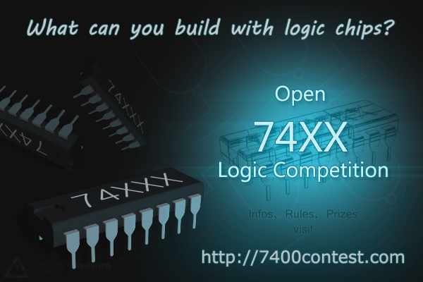 The 7400 Logic Competition. Win Prizes including TI Development Kits