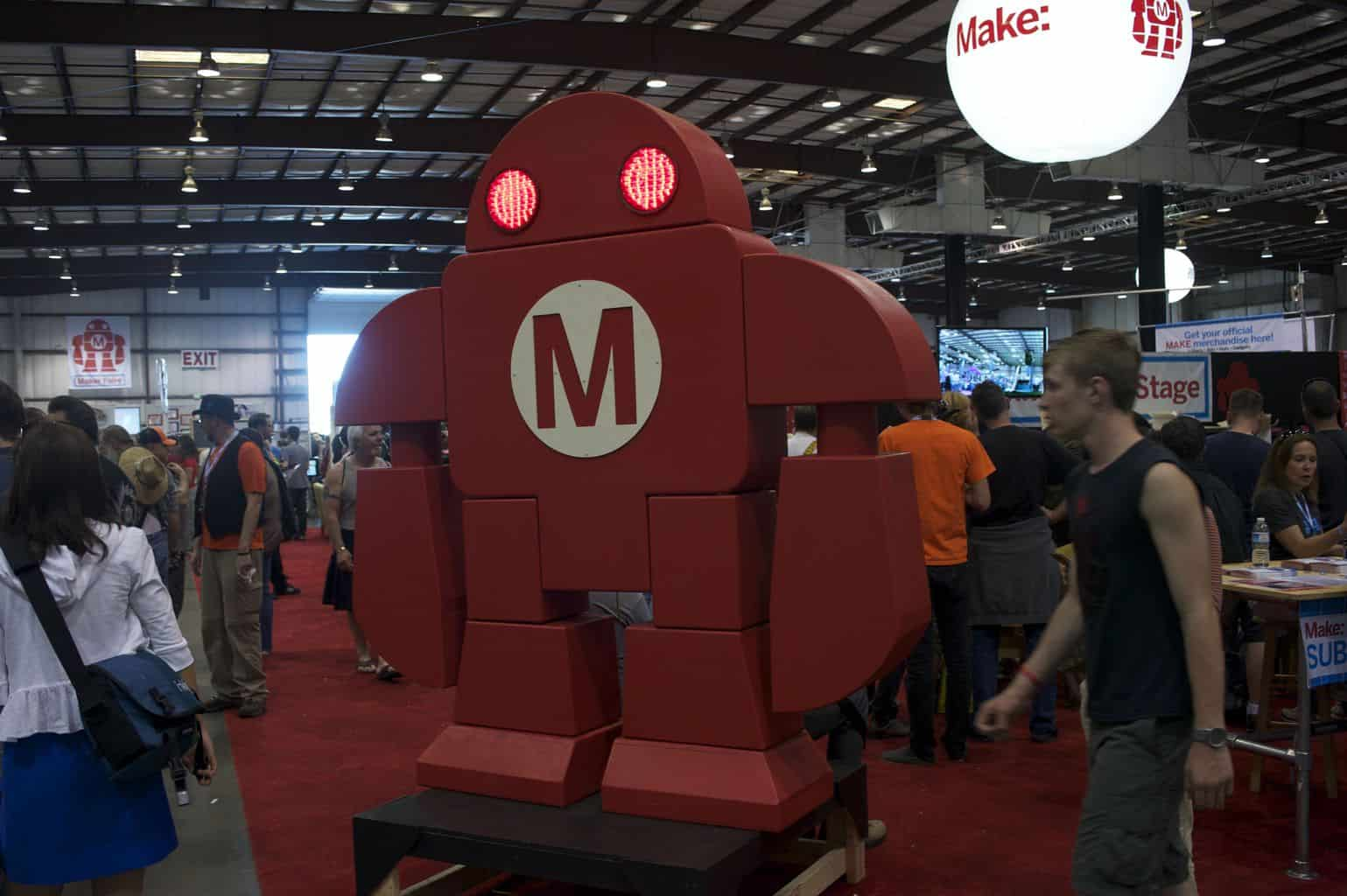 MakerFaire Bay Area 2012 – The Booth