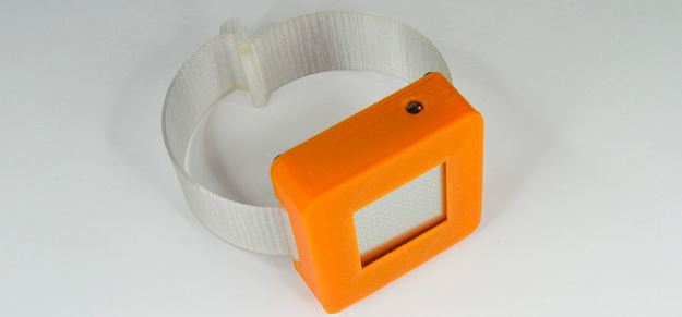 sensortag_2_cc2650_watch_display_devPack_3d_printed_case