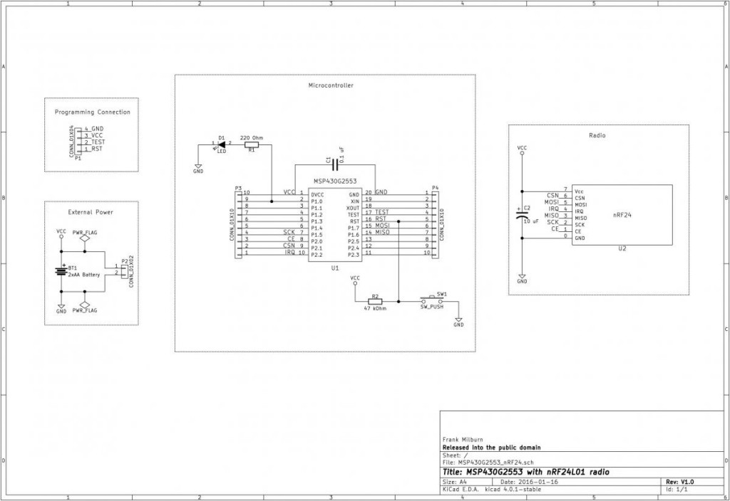 Schematic - nice and simple